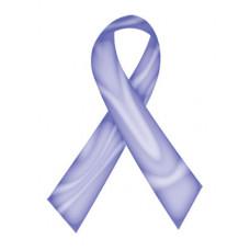Lavender Swirl Ribbon Temporary Tattoo