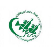"College Louis Riel ""College Louis Riel Voyageurs"" Temporary Tattoo"