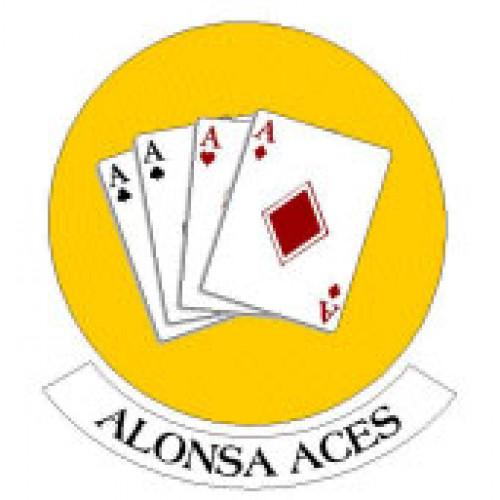 "Alonsa School ""Alonsa Aces"" Temporary Tattoo"