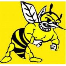 "Hartney School ""Hornets"" Temporary Tattoo"