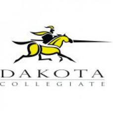 "Dakota Collegiate ""Lancers"" Temporary Tattoo"
