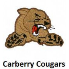 "Carberry Collegiate ""Carberry Cougars"" Temporary Tattoo"