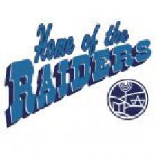 "Gray Academy of Jewish Education ""Raiders"" Temporary Tattoo"