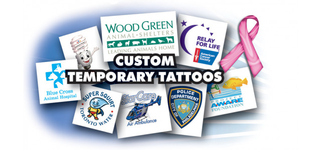 Make up your own Custom Temporary Tattoo